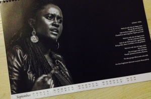 Stimmens Africa African Writers calendar 2015